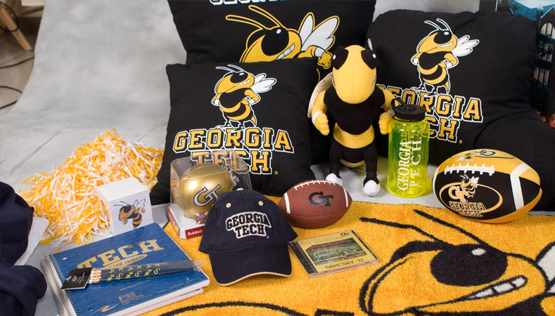 Georgia Tech licensed products and apparel